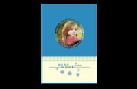 高档宝宝册,儿童成长册,生活记录册(照片可更换)-8x12印刷单面水晶照片书20p