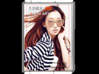 生活的艺术(精美时尚杂志册)青春 潮流 优雅女性-A4时尚杂志册(26p)