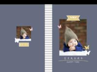 宝贝成长快乐-硬壳对裱照片书20P