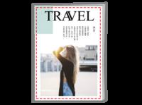 记忆旅行,时光印记。旅行,蜜月,闺蜜游-A4骑马钉画册