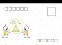 Merry Christmas-全景明信片(横款)套装