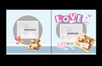 love爱-宝宝成长的爱,浪漫唯美的爱情极致精品珍藏版-天使宝贝10x10照片书