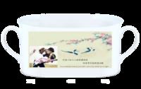 双飞燕-骨瓷白杯