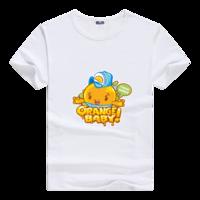 水果家族男款莫代尔T恤