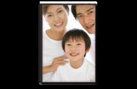 幸福一家-8x12单面银盐水晶照片书