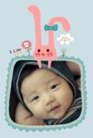 萌萌宝贝-6寸印刷照片装餐(24张)