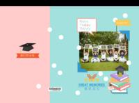 幼儿园小学毕业册照片可替换-A4硬壳照片书34p