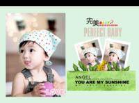 童年的春天(记录宝贝成长历程)-A4硬壳照片书24P