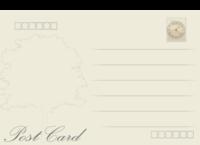 复古欧式明细-长方留白明信片(横款)套装