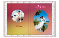 【诗配画--浪漫盛夏】(封面及内页人物可替换)-8x12高清银盐照片书