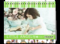 小天使(页内外照片可替换)-8寸双面印刷台历