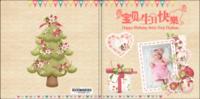 宝贝生日快乐-亲子 甜美 萌-8x8轻装文艺照片书40p