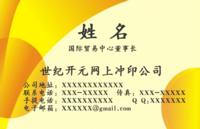 高档大气商务名片(文字位置大小可修改)