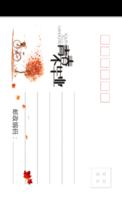 MX35毕业聚会纪念 记录 青春校园 简洁个性-等边留白明信片(竖款)套装