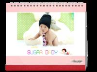 超级宝贝-萌娃-照片可替换-10寸单面印刷台历