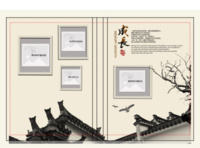 成长-家庭亲情篇(全家福,我们的故事)-硬壳精装照片书20p