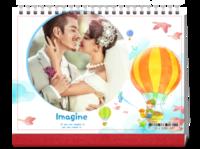我的梦想世界(写真亲子爱情旅行)首图可换-8寸单面印刷跨年台历