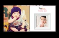 (照片可换)儿童高端简洁亲子儿童宝宝照片书-贝蒂斯8X8照片书