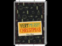 Merry Christmas 圣诞节快乐(节日礼物)酷黑版 欧美经典原创高档精品自由设计-A4时尚杂志册(24p)