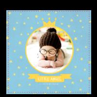 我家的小天使-小小的你是最闪亮的星-6x6骑马钉画册