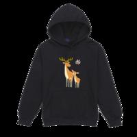 大鹿和小鹿(可爱、亲子)-套头卫衣