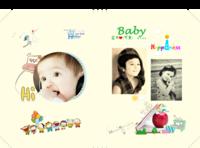 快乐宝贝的成长纪念-开心生活快乐成长每一天-硬壳照片书24P