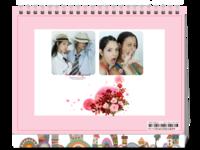 青春物语(爱情 潮流 青春 闺蜜)-8寸双面印刷台历