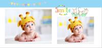 宝贝微笑魅力无限--亲子 可爱 萌 甜美 可爱-鲸之歌方8寸照片书