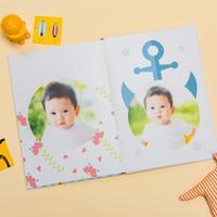 自由DIY-硬壳对裱照片书30p