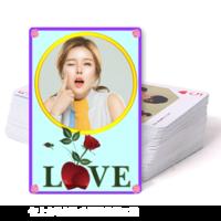 LOVE精美扑克牌(封面照片可更换)-双面定制扑克牌