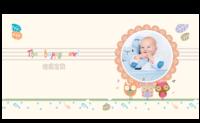 可爱插画-宝贝快乐时光-8X8锁线硬壳精装照片书40p