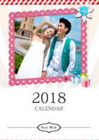 相约2018精美挂历(幸福的我们)-A3挂历