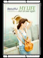 美丽生活-时尚写真集-A4杂志册(32P)