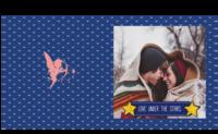 爱在星光下 -我们的爱( 照片可替换)-方8寸硬壳精装照片书