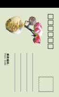 毕业情思-正方留白明信片(竖款)套装