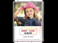 Baby Love 宝贝之爱(亲子纪念册) 高档原创欧美经典精品自由DIY-A4时尚杂志册(24p)