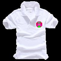 班服,活动,数学几何拼图-男款纯色POLO衫
