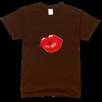 诱惑舒适彩色T恤