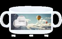 风景_空山热气球大山爬山雪山登山旅游旅行-白杯