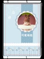 可爱萌娃-时尚-萌娃-宝贝-写真-纪念--高档纪念册(大容量、照片可换)-A4杂志册(32P)