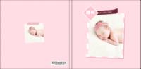 宝宝成长录(女宝宝款)儿童相册 周岁 百天纪念-8x8轻装文艺照片书80p