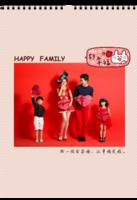 幸福的一家人-A3挂历