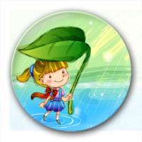 快乐童年-7.5个性徽章