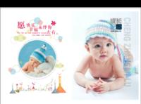 成长记录 儿童 萌宝 影楼风格 清新简洁(字图可替换)-硬壳精装照片书22p