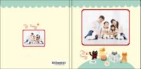 我的一家-全家福 家庭 宝宝 儿童相册-8x8轻装文艺照片书80p