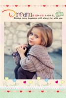 幸福快乐伴着你 可爱宝贝儿童萌娃宝宝亲子写真 成长记忆留念-8x12双面水晶印刷照片书20p