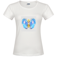 蝴蝶时尚修身纯棉T恤女款