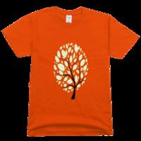 生命树高档彩色T恤