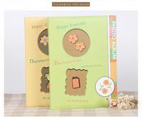 四色花系列6寸插页式相册