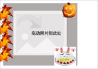 生日快乐-彩边拍立得横款(6张P)